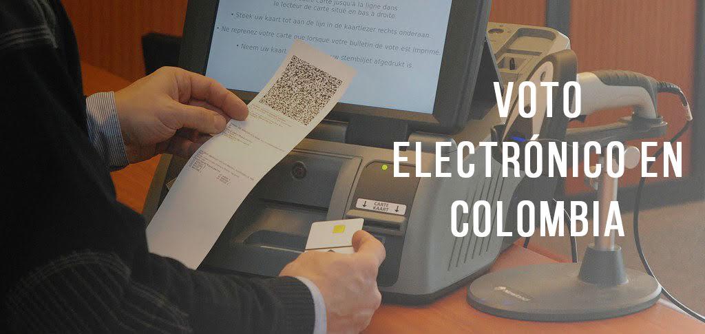 Voto electronico en col